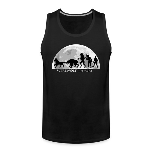 Werewolf Theory: The Change - Men's Premium Tank Top - Tank top męski Premium