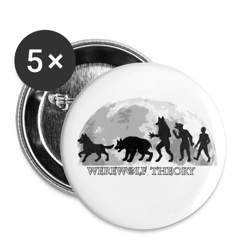 Werewolf Theory: The Change - 32 mm (Medium) Buttons (Set of 5) - Przypinka średnia 32 mm (pakiet 5 szt.)