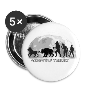 Werewolf Theory: The Change - 56 mm (Large) Buttons (Set of 5) - Buttons large 56 mm