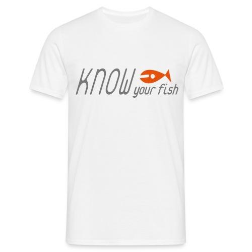 KYF Herre T-shirt (Hvid) - Herre-T-shirt