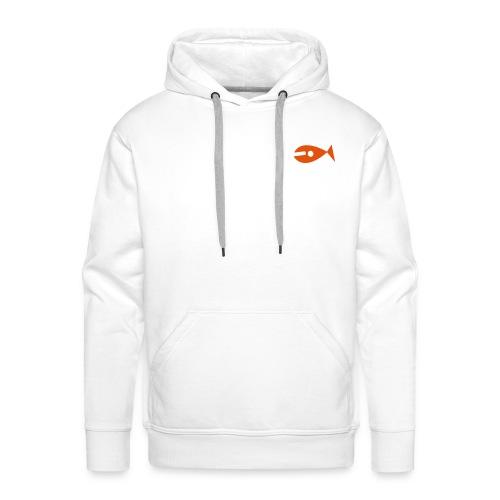KYF Herre Hoodie (Hvid) - Herre Premium hættetrøje