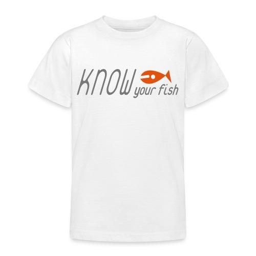 KYF Børne T-shirt 9 - 14 År - Teenager-T-shirt