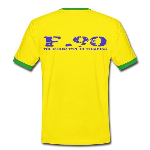 ADHS F.90 die andere art  - Männer Kontrast-T-Shirt