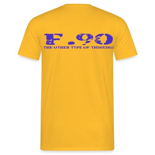 ADHS F.90 die andere art  - Männer T-Shirt