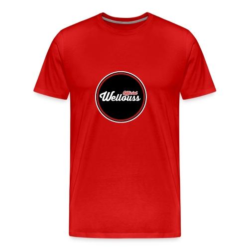 Wellouss T-shirt | Rood (Man) - Mannen Premium T-shirt
