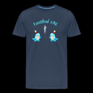 Foostival 2016 T-Shirt (m) - Männer Premium T-Shirt