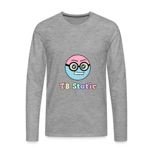 Avric Cartoon Mascot (Tb Static) Sleeve Shirt - Men's Premium Longsleeve Shirt