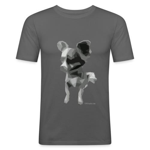 MAYAtwo - Männer Slim Fit T-Shirt