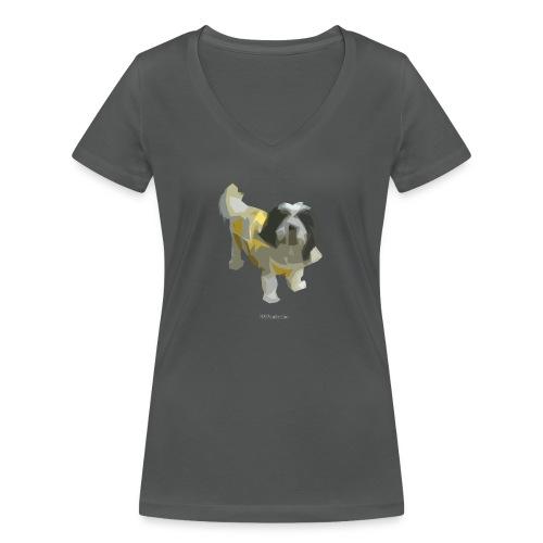 WILLI - Frauen Bio-T-Shirt mit V-Ausschnitt von Stanley & Stella