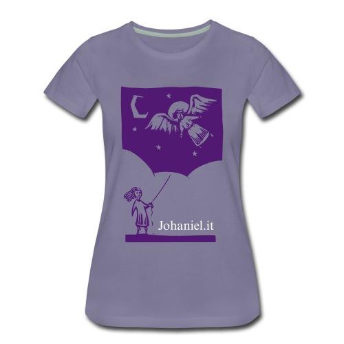 Johaniel e la Nave chiamata Universo - Angelo - Maglietta Premium da donna