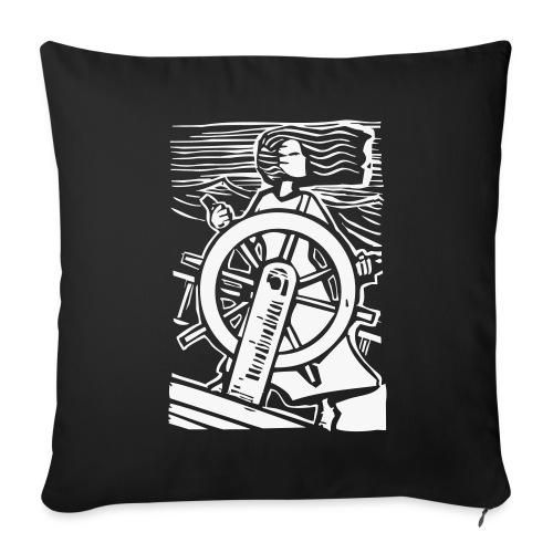 Johaniel e la Nave chiamata Universo - Copricuscino - Copricuscino per divano, 44 x 44 cm