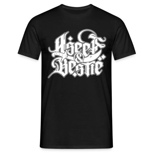 Logoshirt _whitegrey - Männer T-Shirt