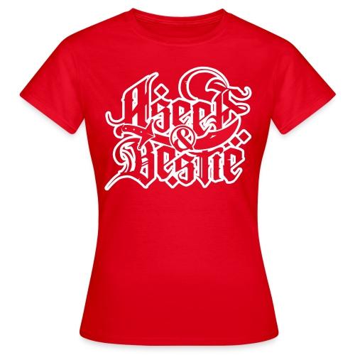 Mädels-Logoshirt - Frauen T-Shirt