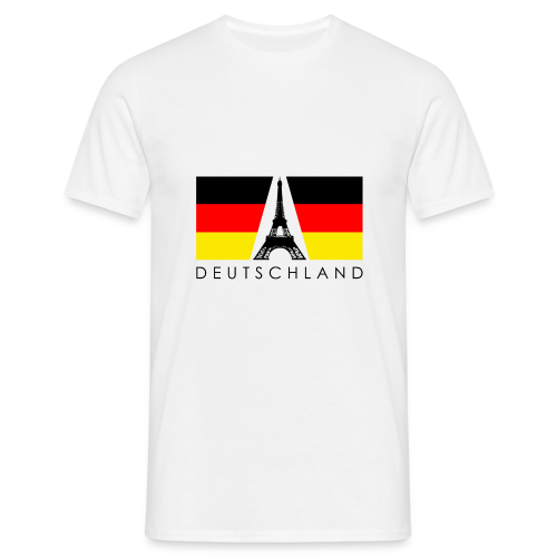 Deutschland - Männer T-Shirt - Männer T-Shirt