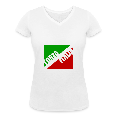 Italien - Frauen Shirt mit V-Ausschnitt - Frauen Bio-T-Shirt mit V-Ausschnitt von Stanley & Stella