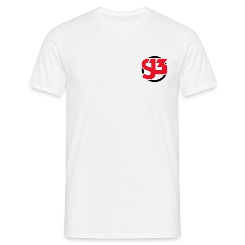 Mens Small Logo - Men's T-Shirt