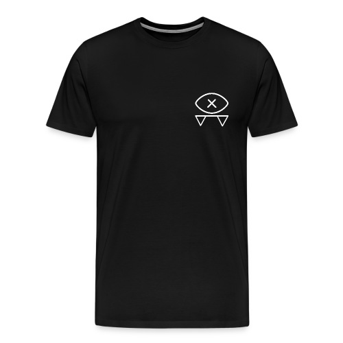 Blind Bat Logos Black T-Shirt - Men's Premium T-Shirt