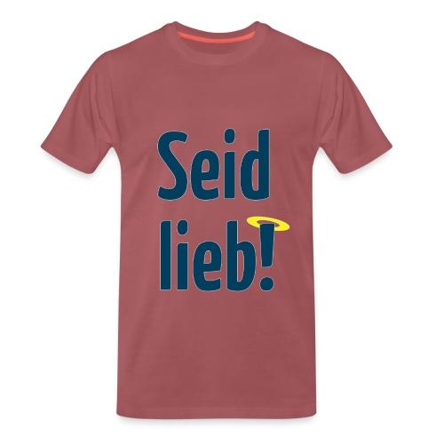 Männer-Premium-T-Shirt (S–5XL)