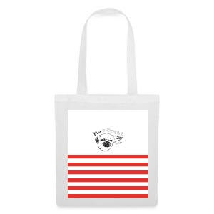Miss PIDDLES Stripes Bag - Stoffbeutel