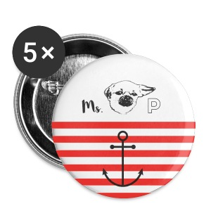 Miss PIDDLES Button - Buttons mittel 32 mm