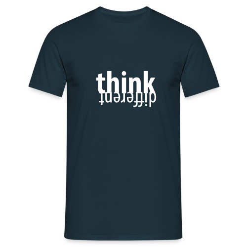Think different (dh) - Männer T-Shirt
