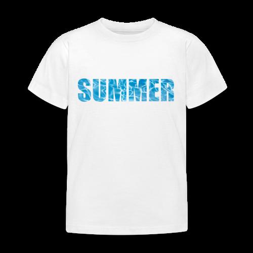 SUMMER - T-shirt Enfant