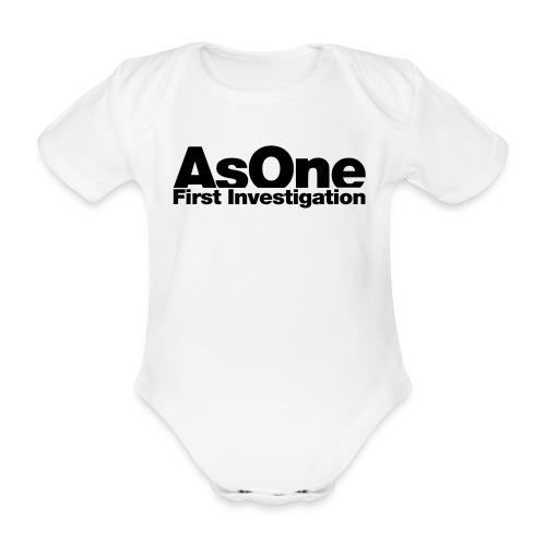 AsOne BB I - Body bébé bio manches courtes