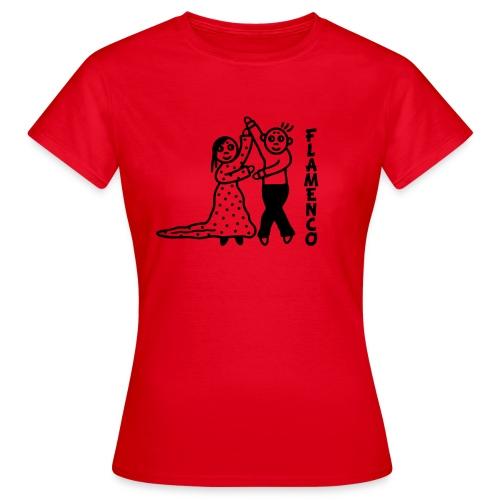 Flamencotänzer - Frauen T-Shirt