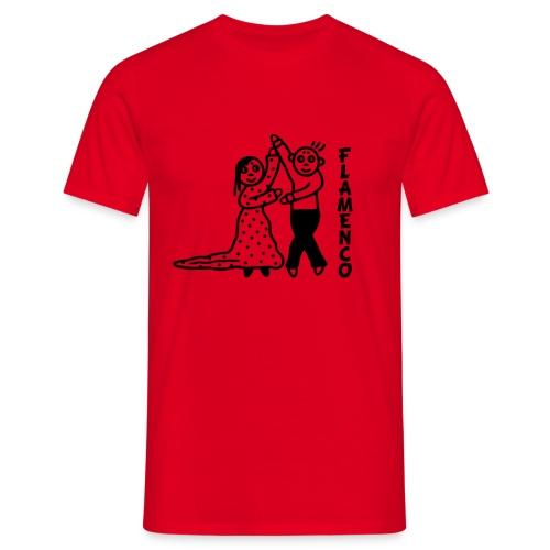 Flamencotänzer - Männer T-Shirt