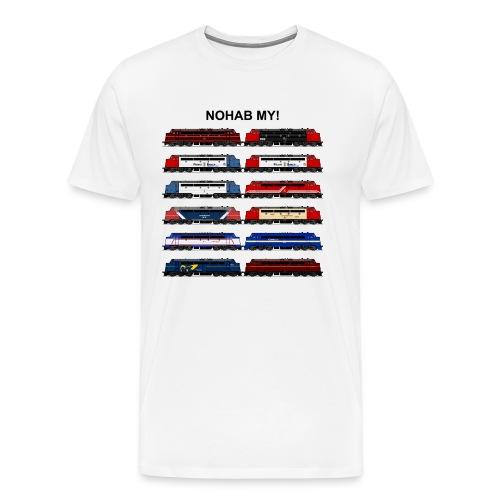 NOHAB MY! - Herre premium T-shirt