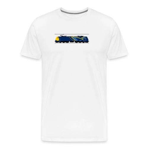RSC litra EG blå - Herre premium T-shirt