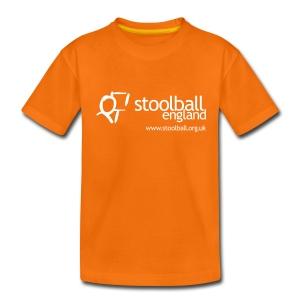Stoolball England Kid's T-Shirt - Teenage Premium T-Shirt