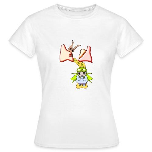 Women's White Fantasy T-shirt Minthia - Women's T-Shirt