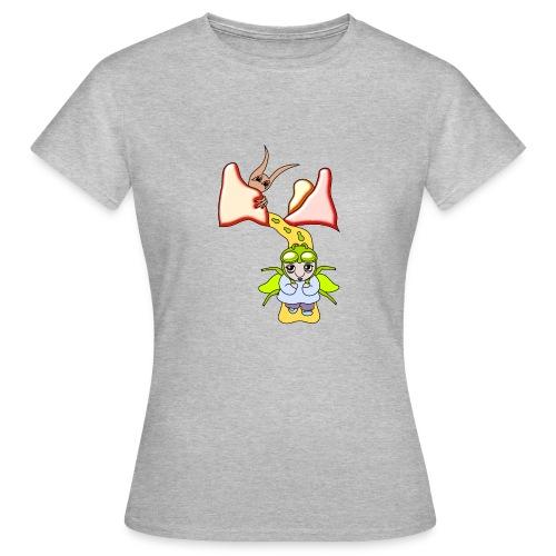Women's Grey Fantasy T-shirt Minthia - Women's T-Shirt