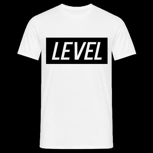 Level White T-Shirt - Men's T-Shirt