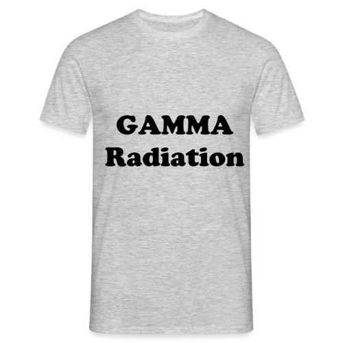 Official Gamma radiation t-shirt! - Men's T-Shirt