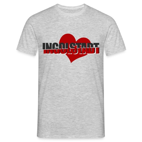 Ingolstadt Love - Männer T-Shirt