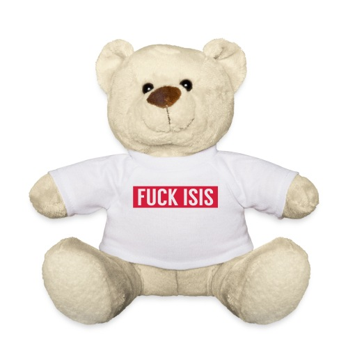 limited edition Fuck Isis teddy bear! - Teddy Bear