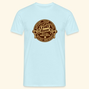 Craft Beer, bicolor - Männer T-Shirt