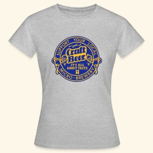 Craft Beer, bicolor - Frauen T-Shirt