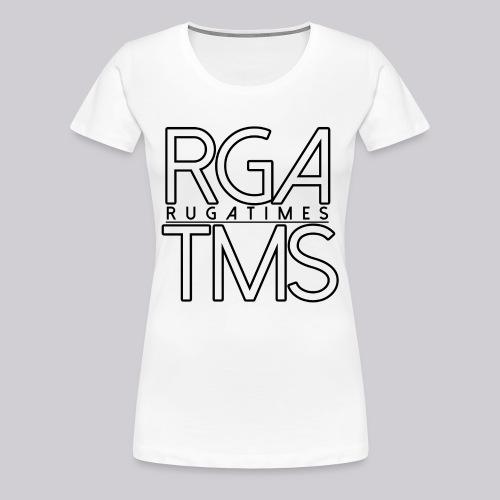 Frauen T-Shirt im RGA TMS Design - RugaTimes - Frauen Premium T-Shirt