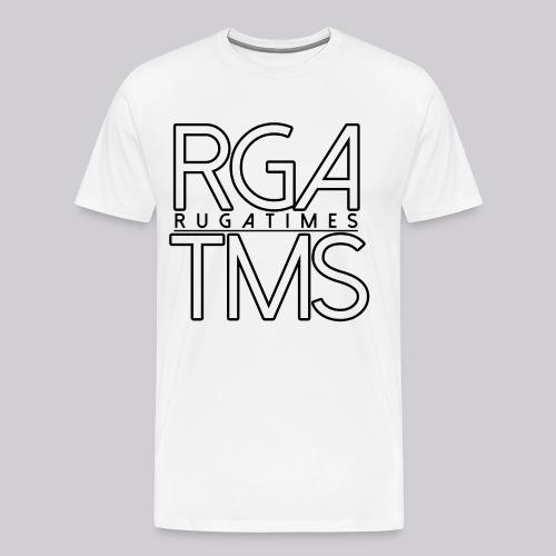 Männer T-Shirt im RGA TMS Design - RugaTimes - Männer Premium T-Shirt