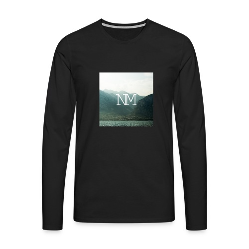 Travel Sweater Boys - Männer Premium Langarmshirt
