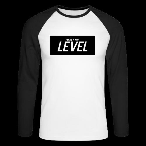 I'm On A New Level T-shirt - Men's Long Sleeve Baseball T-Shirt