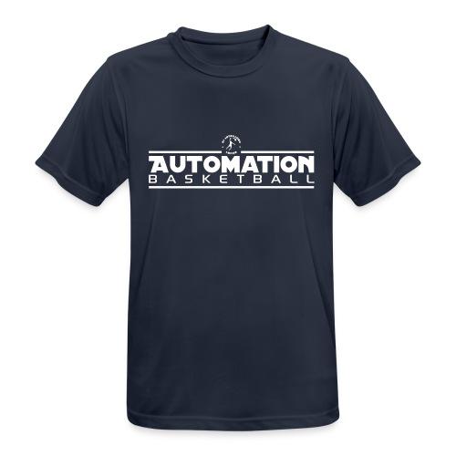 Funktionsshirt Schwarz - Männer T-Shirt atmungsaktiv