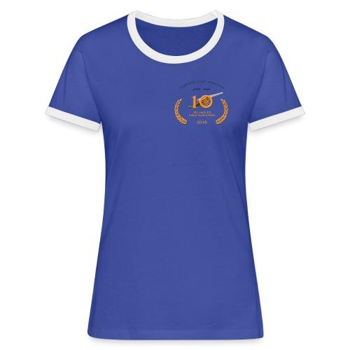 JFC Naples Retro - Female - Women's Ringer T-Shirt