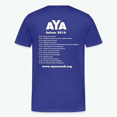 AYA Tourshirt - Installerblau - Männer Premium T-Shirt