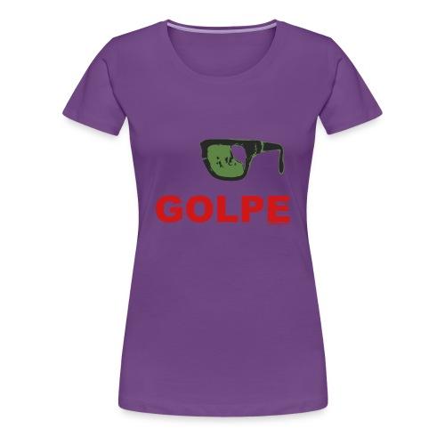 Remera Dama Premium, GOLPE - Camiseta premium mujer