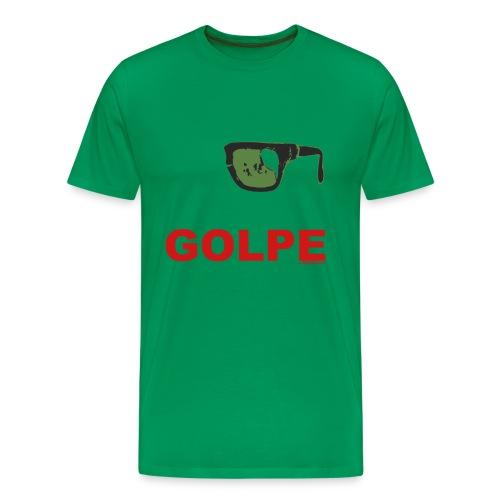 Remera Hombre Premium, GOLPE - Camiseta premium hombre