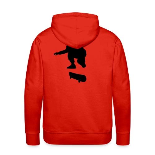 Skateur - Sweat-shirt à capuche Premium pour hommes